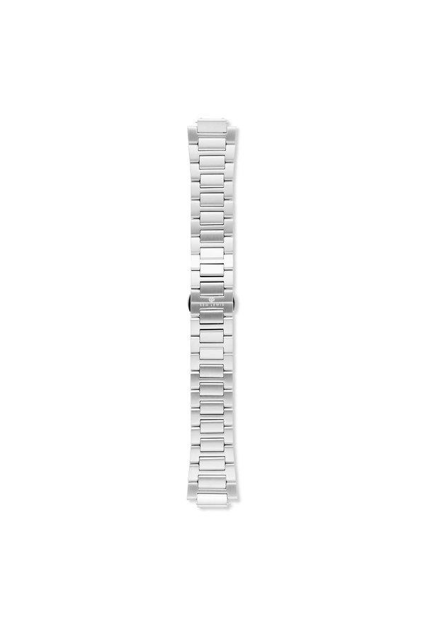 Sem Lewis Aldgate armband i stålmesh 24 mm silverfärgat