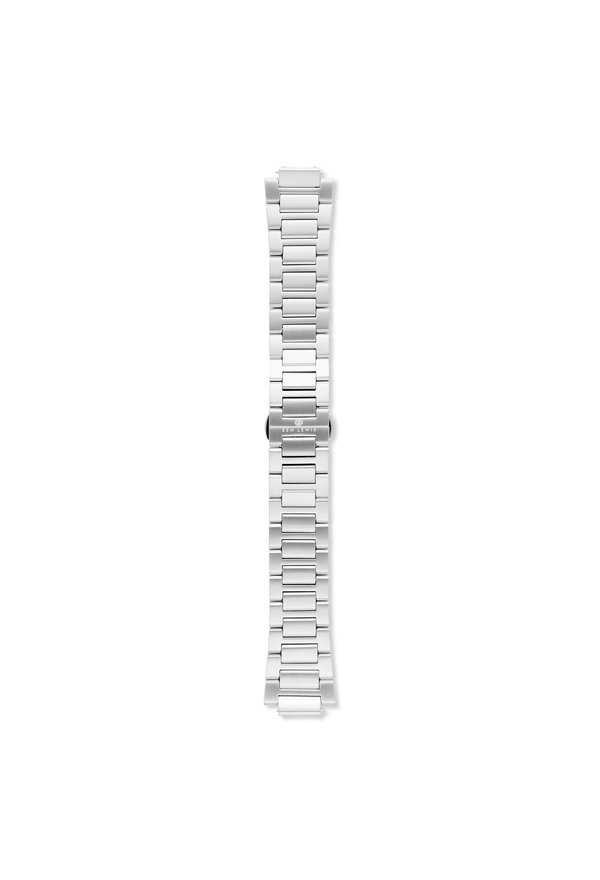 Sem Lewis Moorgate steel watch strap 24 mm silver colored