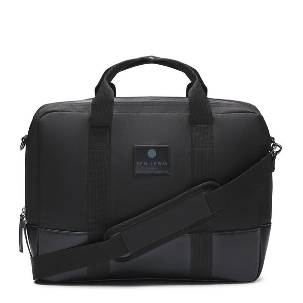 Sem Lewis Northern Hampstead laptop bag black