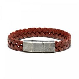 Sem Lewis Bakerloo Paddington leather bracelet brown