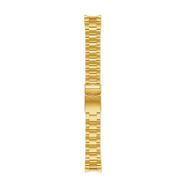 Sem Lewis Lundy Island Diver Urrem i stål 20 mm guldfarvet