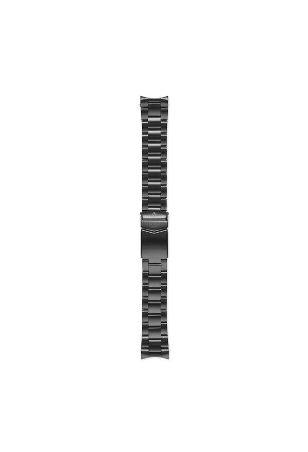Sem Lewis Lundy Island Diver bracelet de montre en acier 20 mm noir