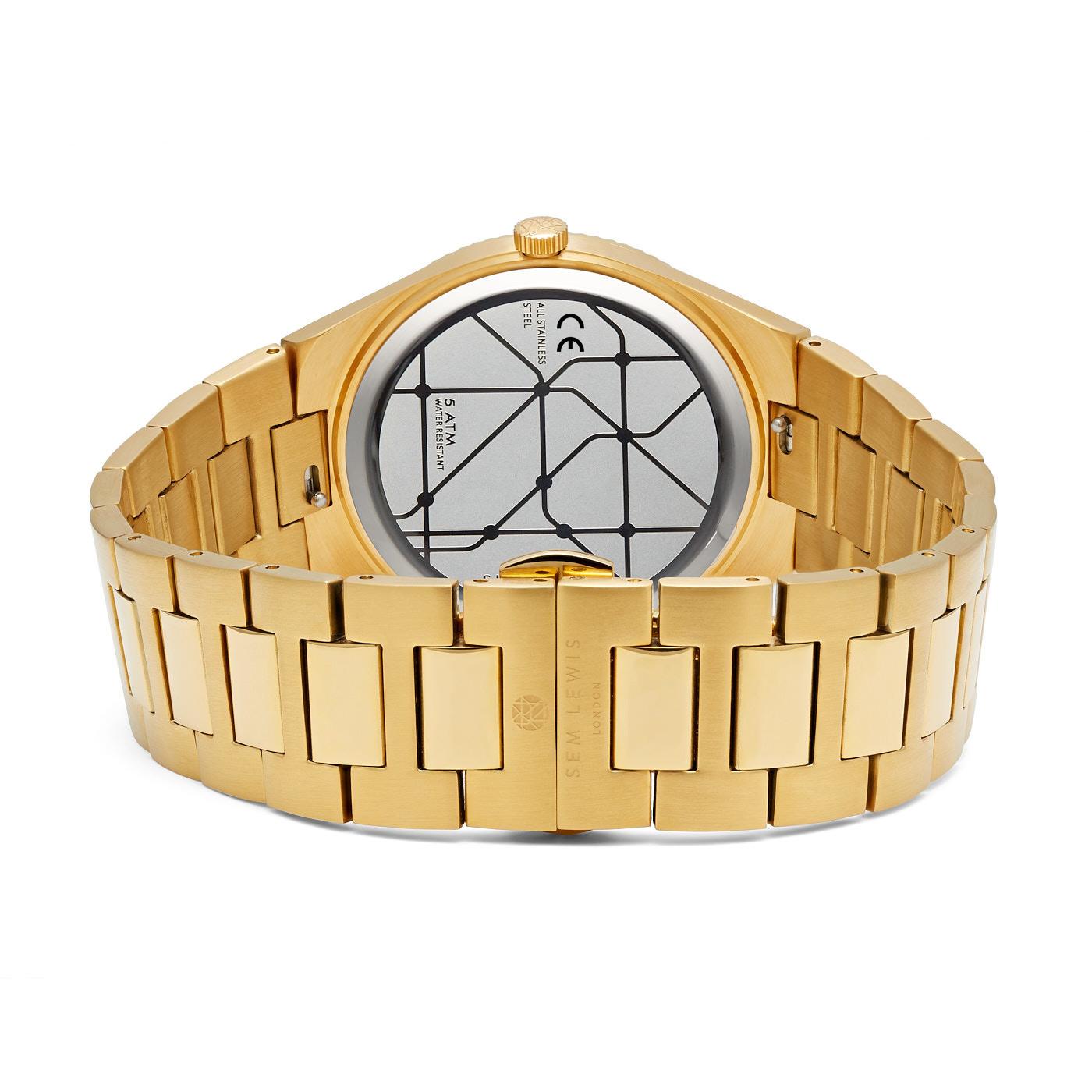 Sem Lewis Sem's Present Bauchtasche schwarz und Uhr