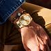 Sem Lewis Piccadilly South Kensington pärlstav armband brun och guldfärgad