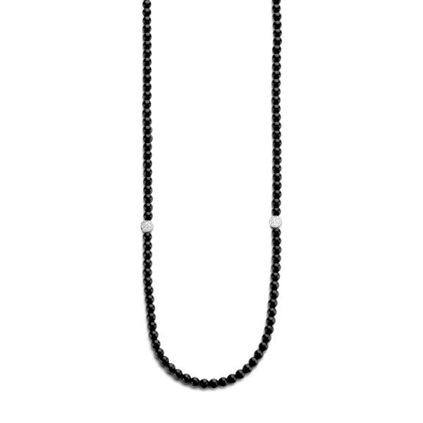 Sem Lewis Piccadilly South Kensington Perlenkette schwarz