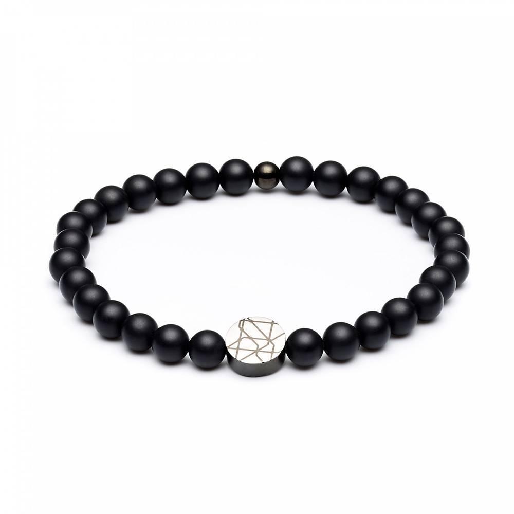 Piccadilly Hammersmith beaded bracelet black size M