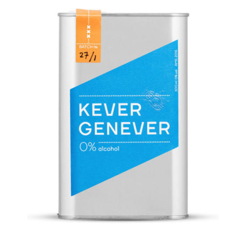 Kever Genever Kever Genever 0%, voor de perfecte mocktail
