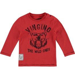 Vingino Vingino baby jongens shirt Janik Red
