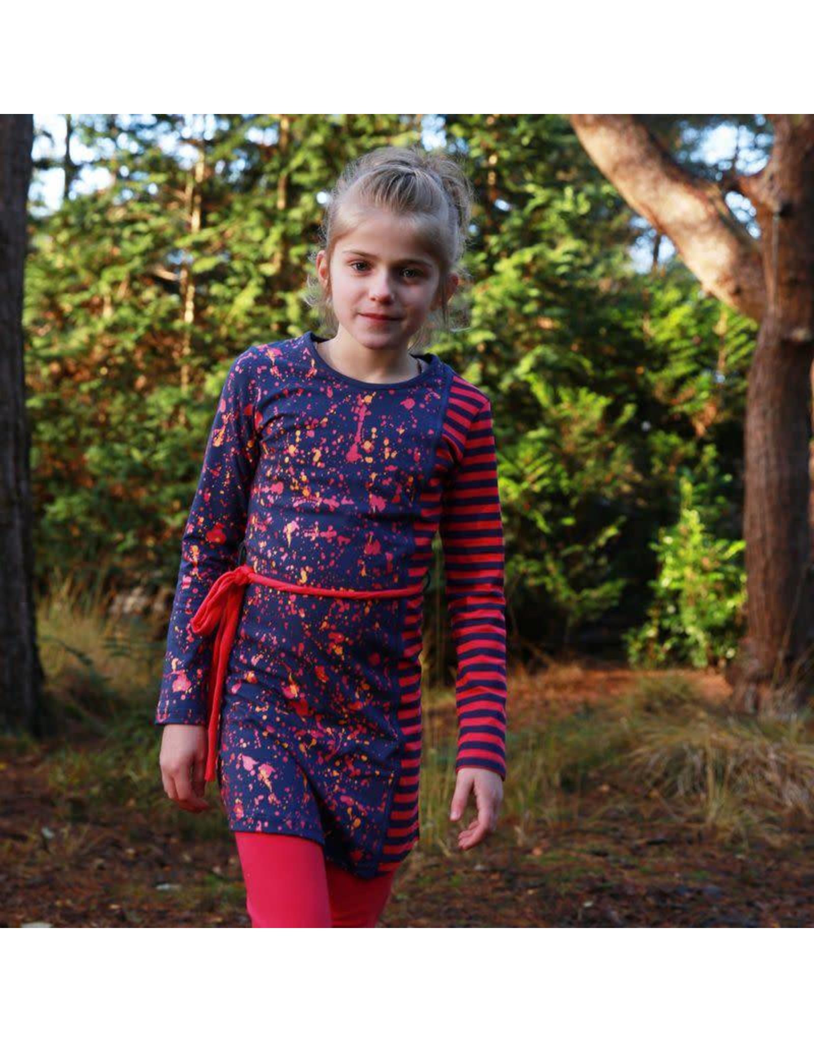 Lovestation Love Station meisjes jurk Geertje