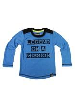 Legends22 jongens shirt Legend on a Mission Blue