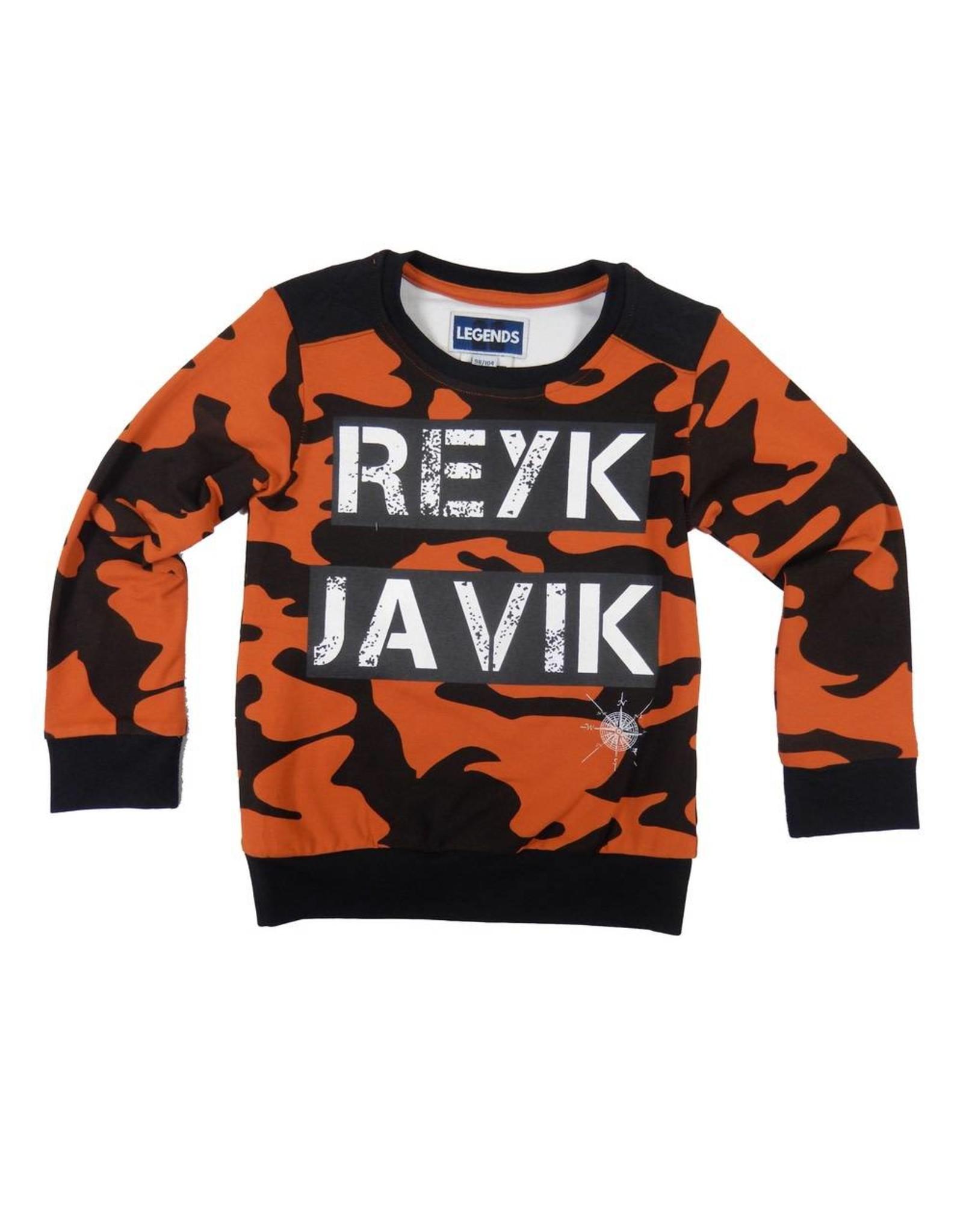 Legends22 Legends22 jongens sweater Reykjavik
