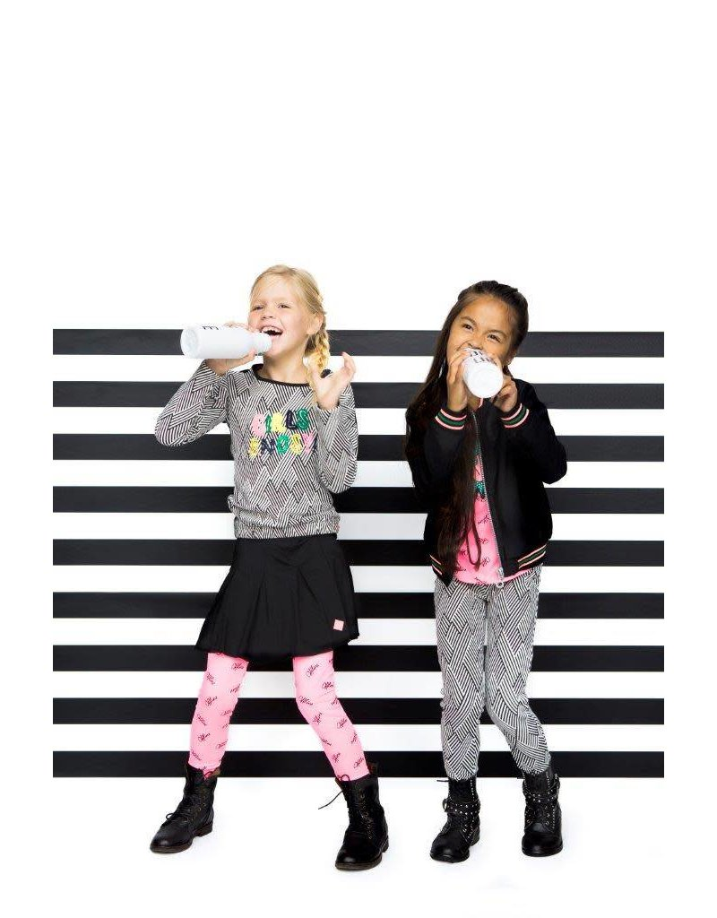 B.Nosy B.Nosy meisjes rokje  metallic Black