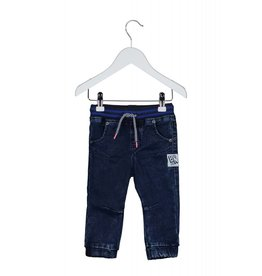 B.Nosy B.Nosy baby jongens jog denim broek Blue Denim
