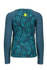 B.Nosy B.Nosy meisjes shirt AO Turtle Melee/ Aqua Sky
