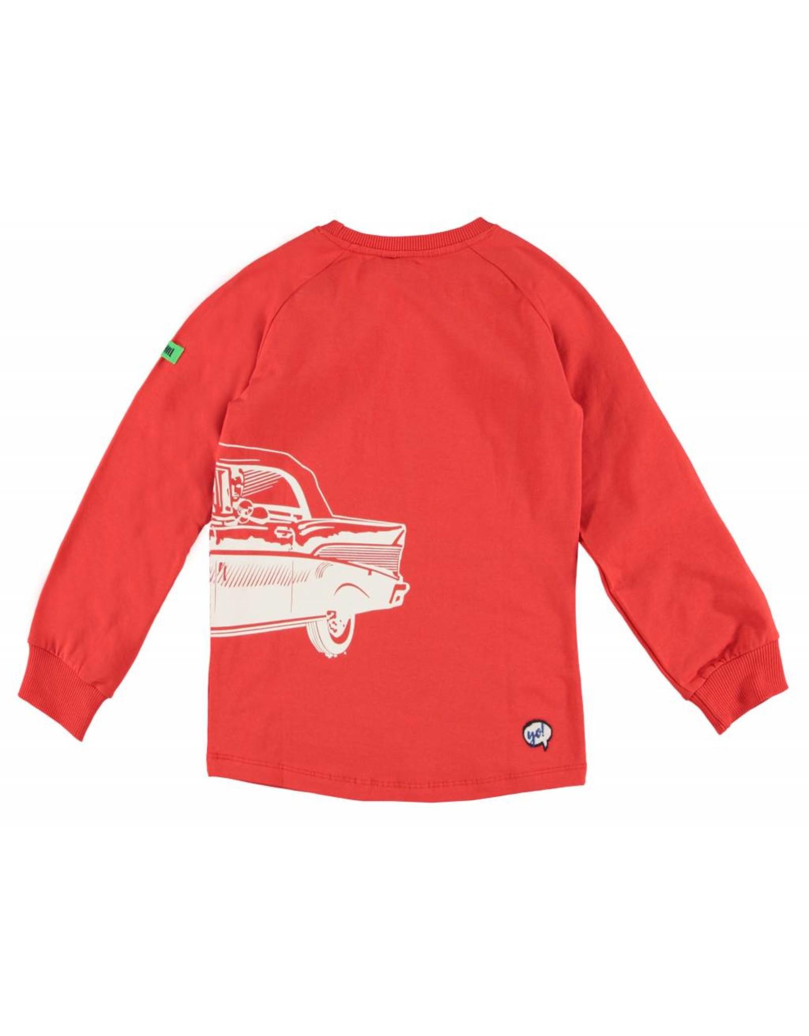 B'Chill B'Chill shirt met auto