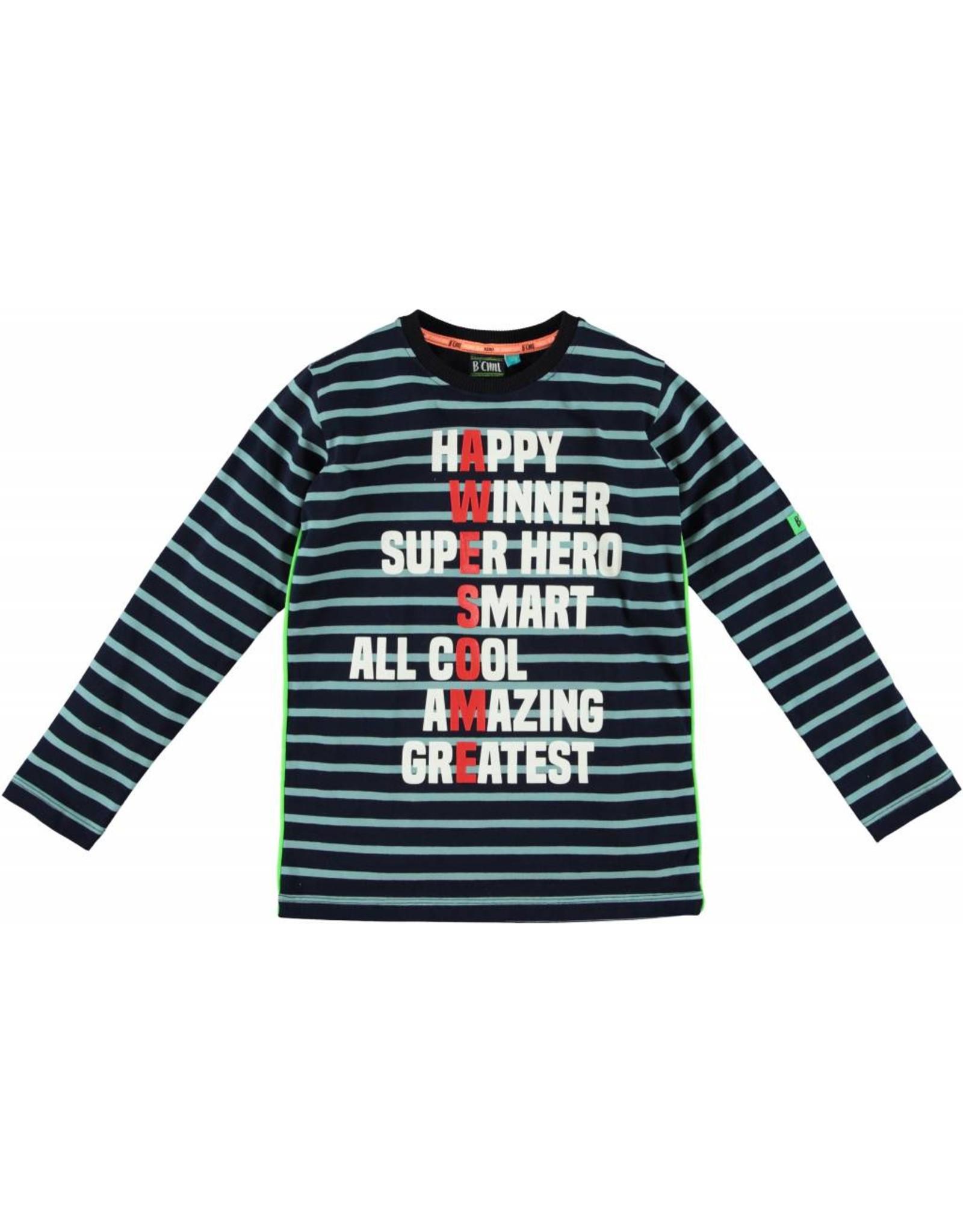 B'Chill B'Chill gestreept shirt