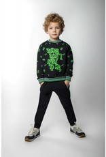 B'Chill B'Chill sweater met Neon Green Doodles
