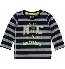 Quapi Quapi baby jongens shirt MADS Navy Stripe