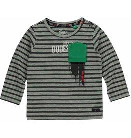 Quapi Quapi baby jongens shirt MARNIX Antra Stripe