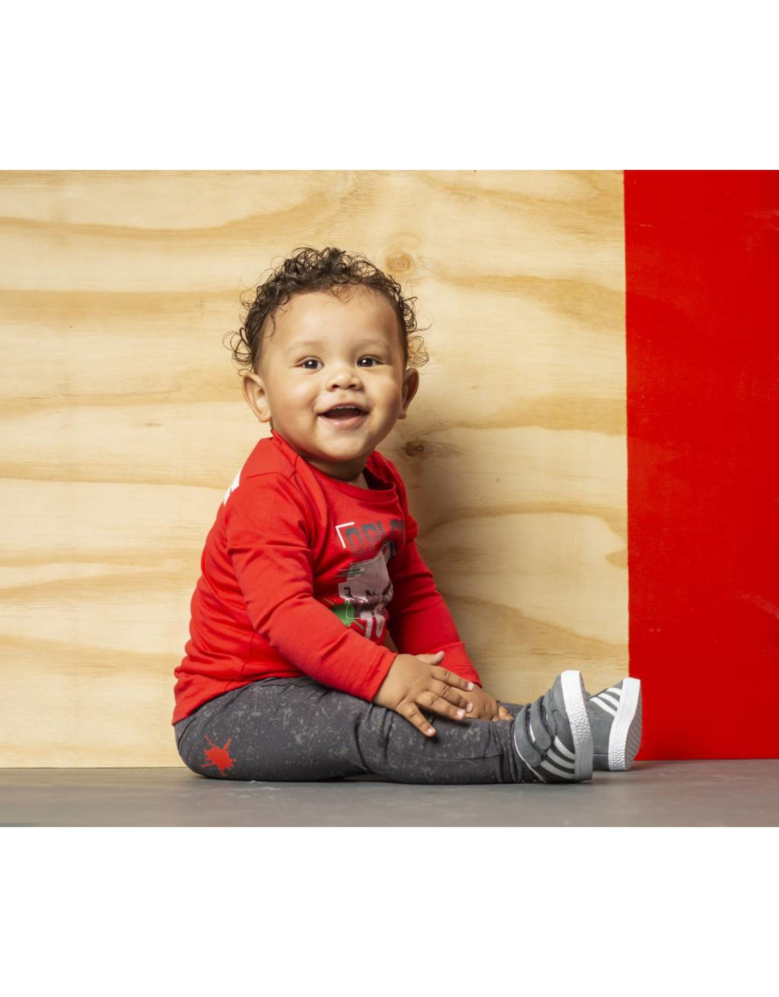 Quapi Quapi baby jongens shirt MART Red