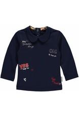 Quapi Quapi baby meisjes shirt MICHELLE Dark Blue