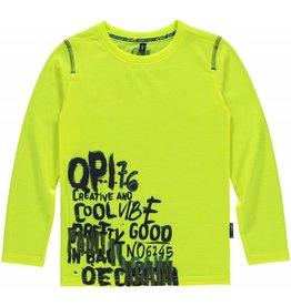Quapi Quapi jongens shirt LEROY Neon Yellow