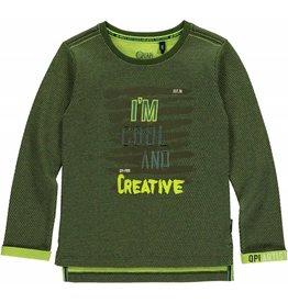 Quapi Quapi jongens shirt LESTER Dark Green
