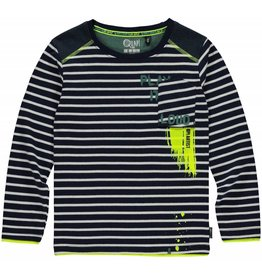 Quapi Quapi jongens shirt LEVI Navy Stripe