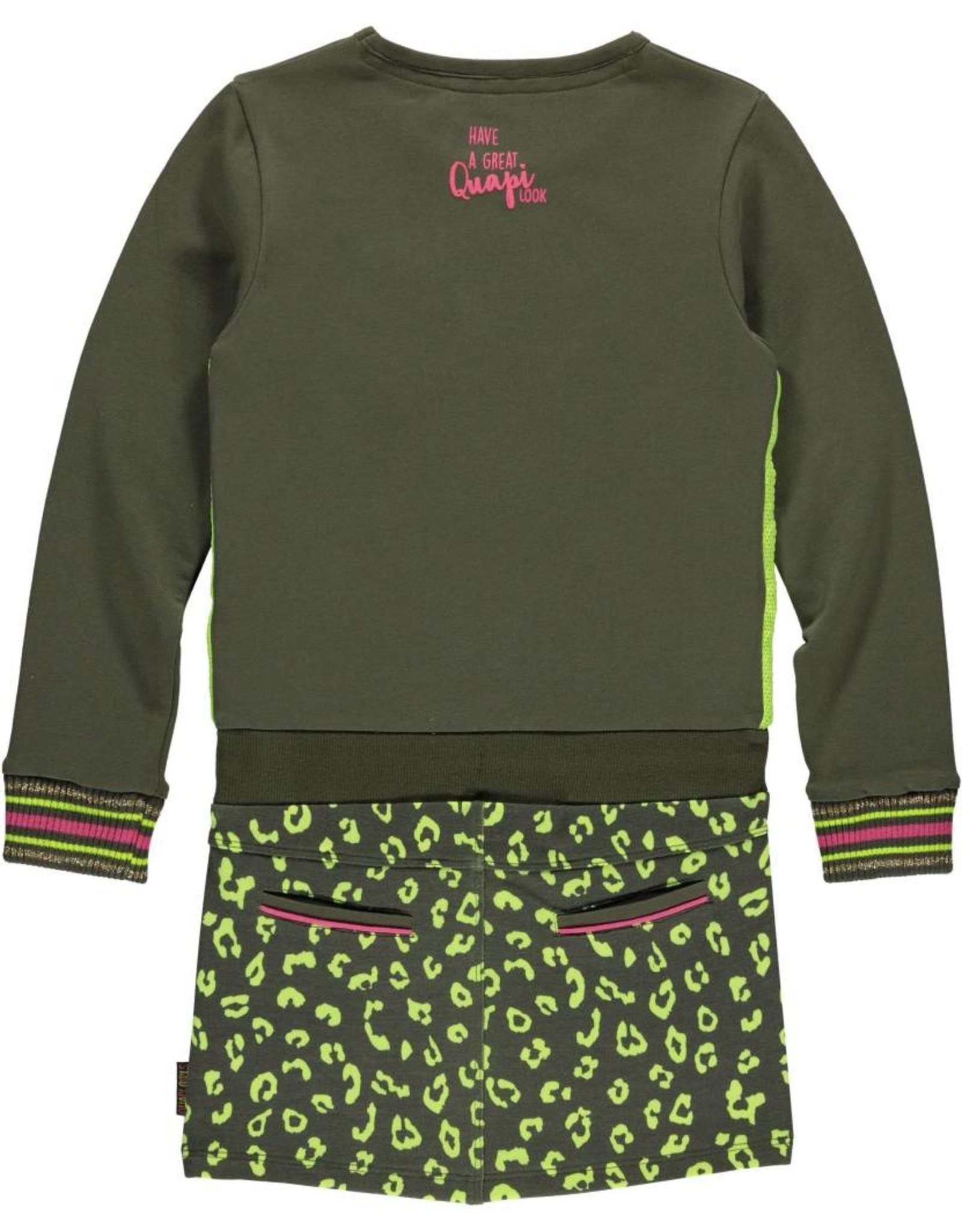 Quapi Quapi meisjes jurk Labella Olive