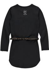 Quapi Quapi meisjes jurk LAMIRA Dark Grey