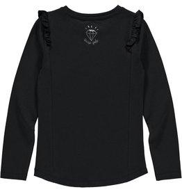 Quapi Quapi meisjes shirt LIDEWIJ Dark Grey