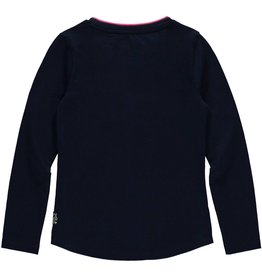 Quapi Quapi meisjes shirt LOEKA Dark Blue