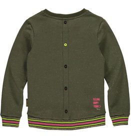 Quapi Quapi meisjes sweater LARA Olive