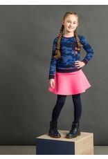 Quapi Quapi meisjes sweater Loes Dark Blue Camouflage