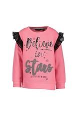 Blue Seven Blue Seven meisjes trui Believe in Stars Pink