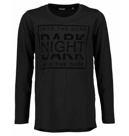 Blue Seven Blue Seven jongens shirt Dark Night Black