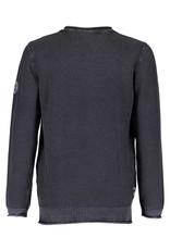 Blue Seven Blue Seven jongens sweater met structuur Black