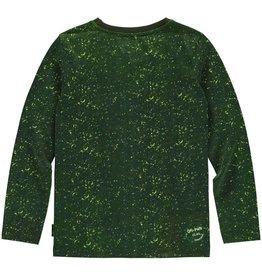 Quapi Quapi jongens shirt LEONARD Dark Green Camouflage 122-128