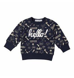 Dirkje Dirkje baby jongens sweater Fresh Hello