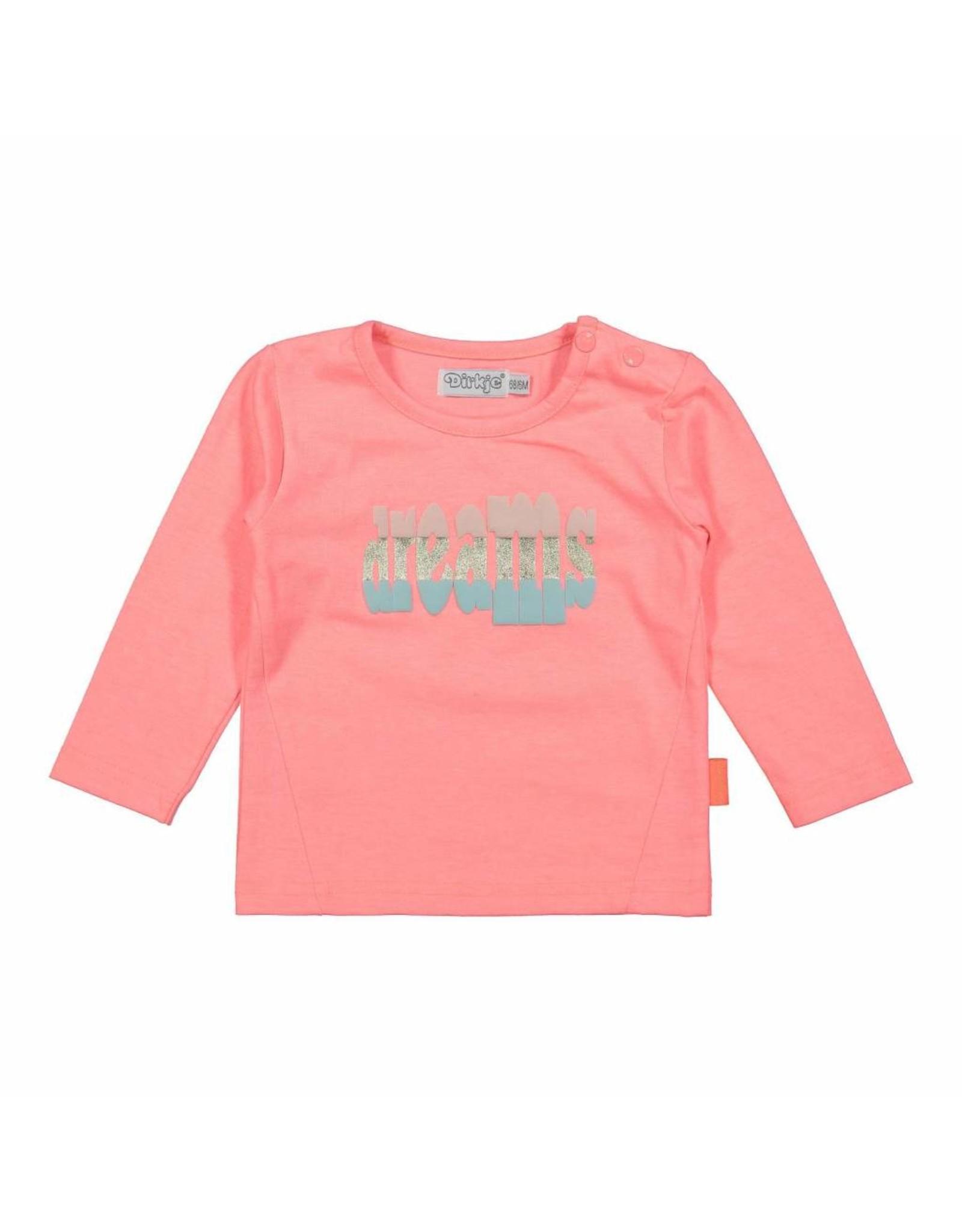 Dirkje Dirkje baby meisjes shirt Enjoy