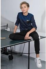 Bellaire Bellaire jongens shirt Jacquard Knit Navy Blazer