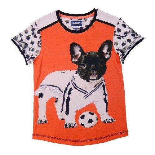 Legends t-shirts football Bull-dog