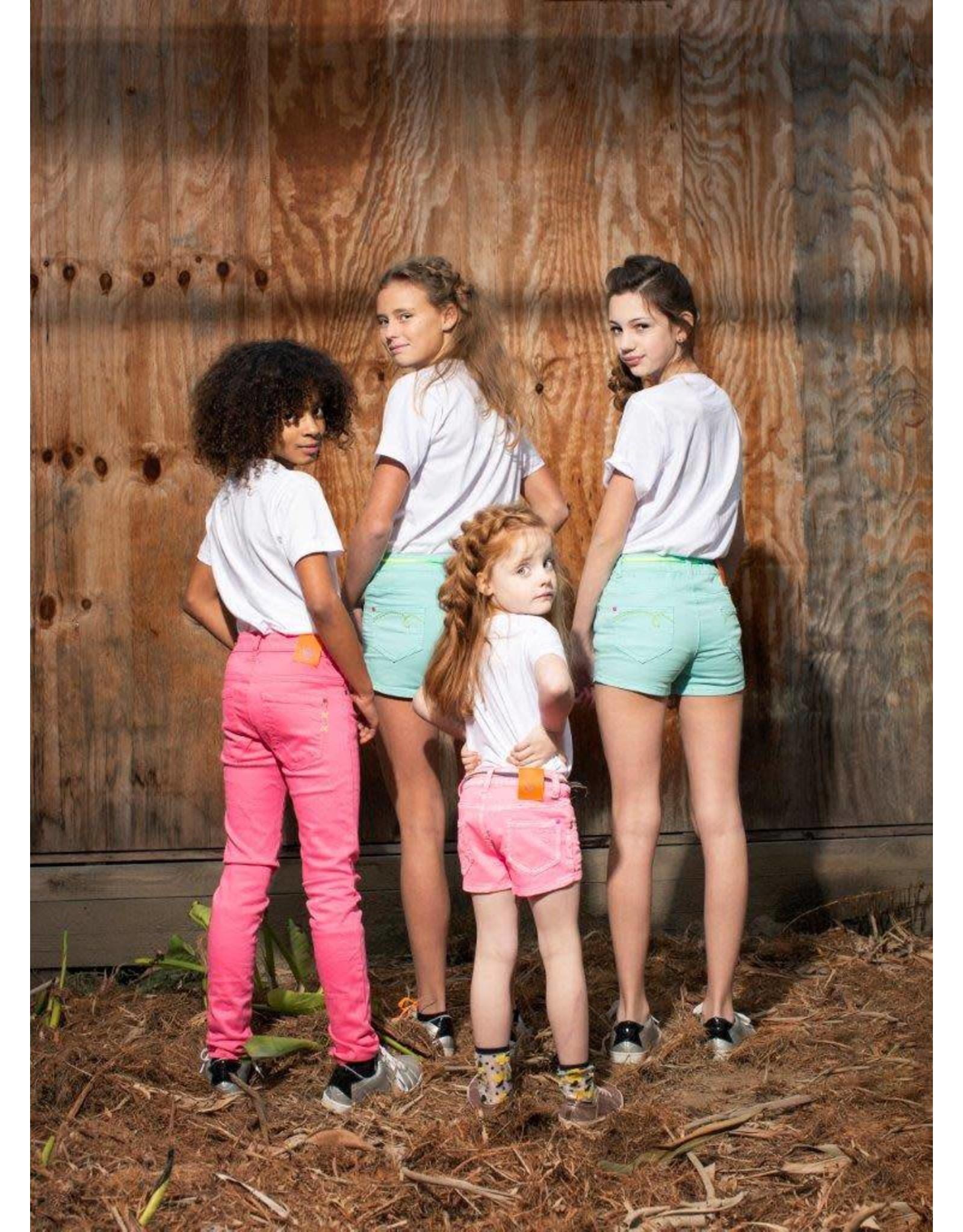 DDD DDD meiden korte broek Jua Pink