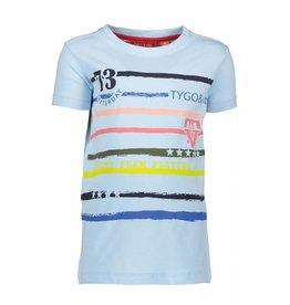 TYGO & vito TYGO & vito jongens t-shirt printed stripes