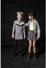 B.Nosy B.Nosy meisjes jurk panterprint en rits