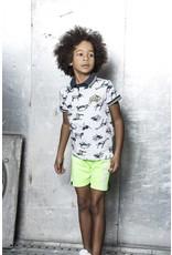 B.Nosy B.Nosy jongens korte joggingbroek with print on side