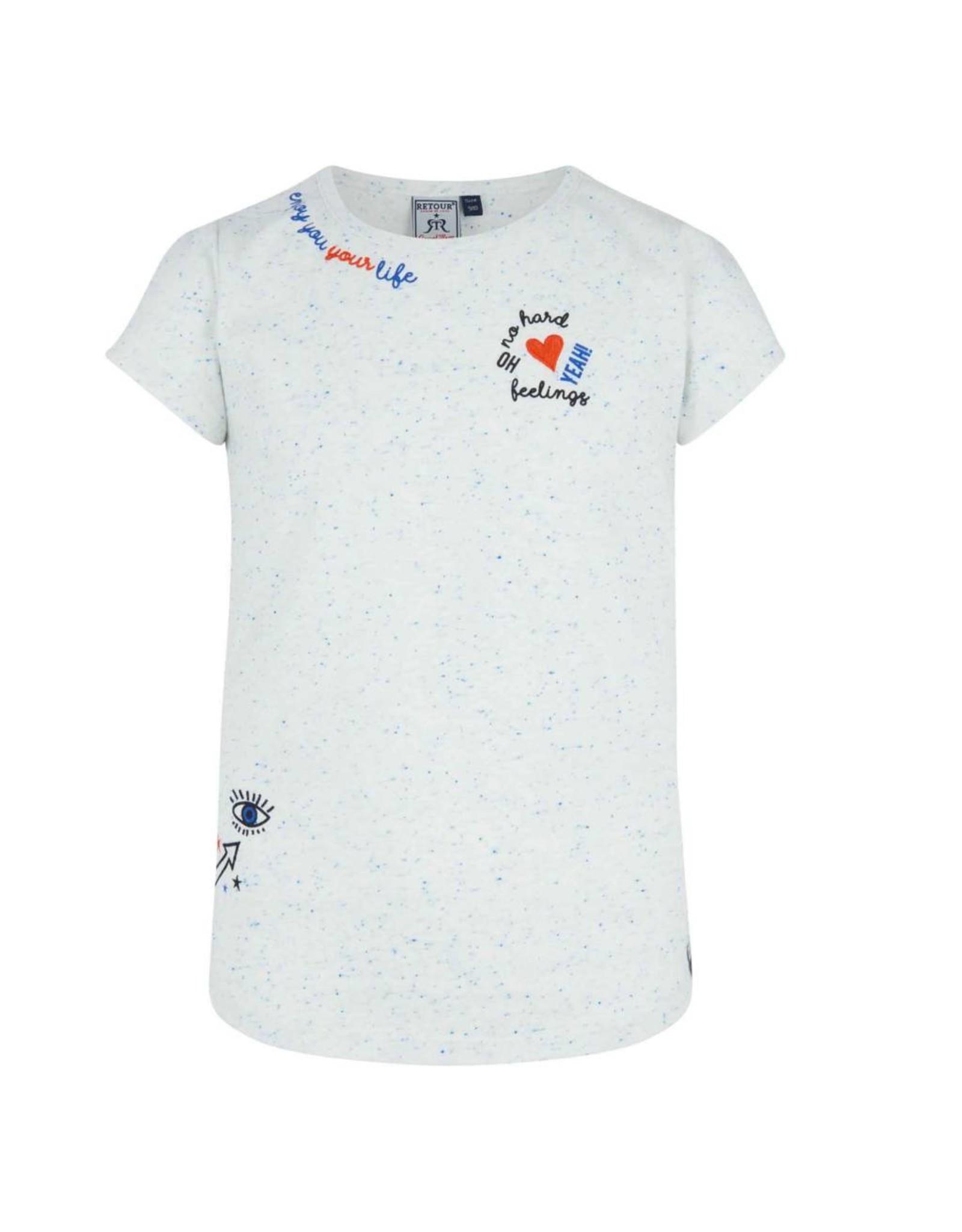 RETOUR RETOUR meiden t-shirt Fanny