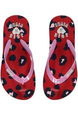 Quapi Quapi meisjes slippers Saavi Leopard