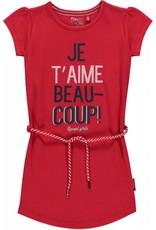 Quapi Quapi meisjes jurk Saar Red
