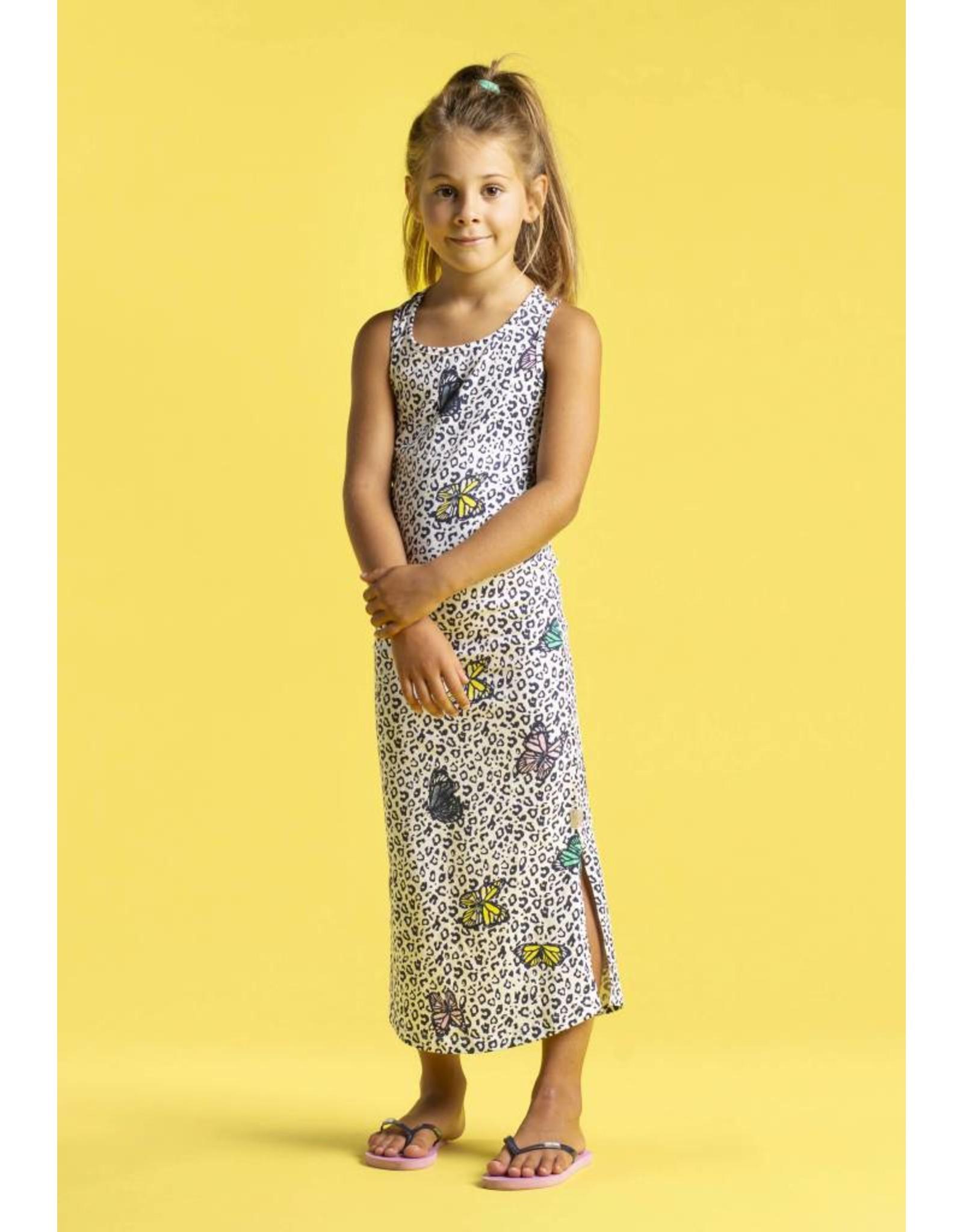 Quapi Quapi meisjes lange jurk Solaine